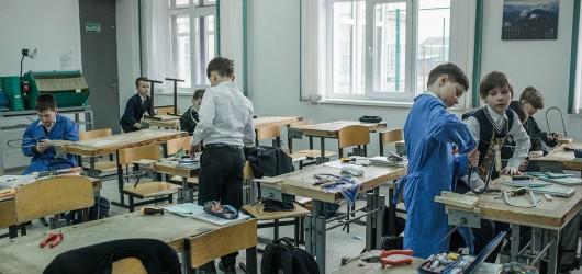 Класс школы, где учился Олег Дерипаска