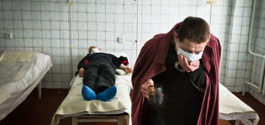 Туберкулёзная тюрьма, приём лекарств