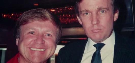 Дональд Трамп тусит с мошенником Яном Леваном